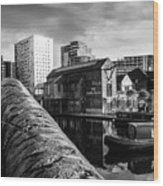 Birmingham Waterway Wood Print