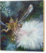 Birth Of A Fairy Wood Print