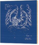 Birth Of Alien Wood Print