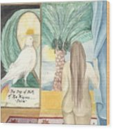Birth Of Princess Emira Wood Print