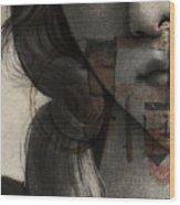 Birth Of Venus Retro Wood Print