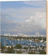 Biscayne Bay Wood Print