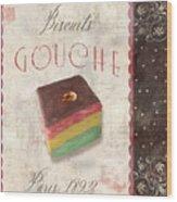 Biscuits Gouche Patisserie Wood Print