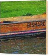 Bismarck Wood Print