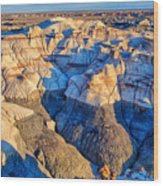Bisti Badlands 10 Wood Print