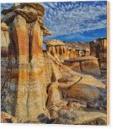 Bisti Badlands 12 Wood Print