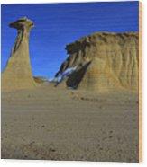 Bisti Badlands 2 Wood Print