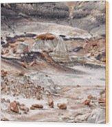 Bisti Badlands 5 Wood Print