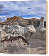 Bisti Badlands 7 Wood Print