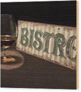 Bistro Still Life I Wood Print