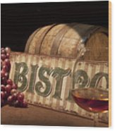 Bistro Still Life II Wood Print by Tom Mc Nemar