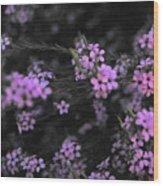 Bits Of Pink Wood Print