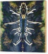 Bitsy Bug Wood Print