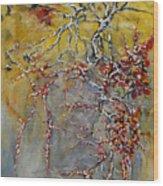 Bittersweet Fool Wood Print by Robert James Hacunda