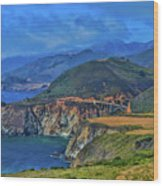 Bixby Bridge 1 Wood Print