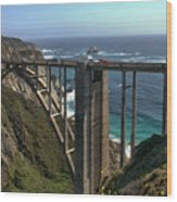 Bixby Creek Bridge 5 Wood Print