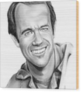 Bj-mike Farrell Wood Print