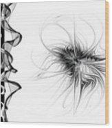 Black And White - 2 Wood Print