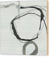 Black And White # 22 Wood Print