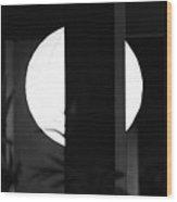 Black And White #010 Wood Print