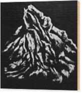 Black and White 1 Wood Print
