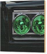 Black Beauty Clone Car Wood Print