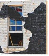 Black Betty Wood Print