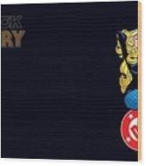 Black Canary Wood Print