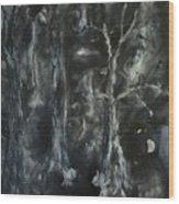 Black Magic Mystery Wood Print
