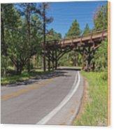Black Hills Bridge 1 Wood Print