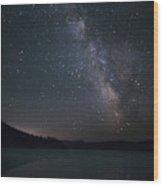 Black Hills Nightlight Wood Print