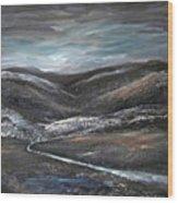 Black Hills Wood Print