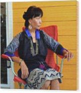 Black Hmong Sapa 1 Wood Print