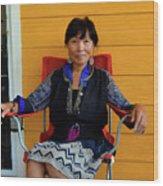 Black Hmong Sapa 3 Wood Print