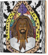 Black J C Wood Print