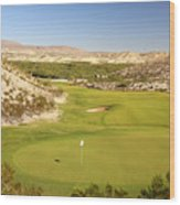 Black Jack's Crossing Golf Course Hole 12 Wood Print