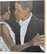 Black Love Is Black Power Wood Print