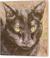 Black Pearl Wood Print