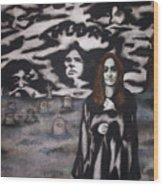 Black Sabbath Tribute Wood Print