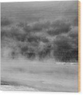 Black Sand Basin Wood Print