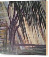 Black Swamp Wood Print
