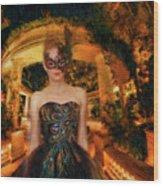 Black Swan Stroll Wood Print