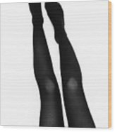 Black Tights #6350 Wood Print