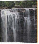 Black Water Falls Wv Wood Print