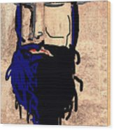 Blackbeard The Pirate Wood Print