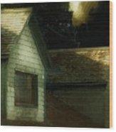 Blackbird Singing In The Dead Of Night Wood Print