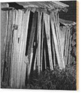 Blackburn-barn Wood Print