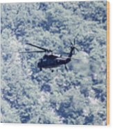 Blackhawk Uh - 60 Wood Print