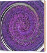 Blackhole Five Wood Print
