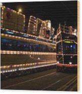 Blackpool Illuminations Wood Print